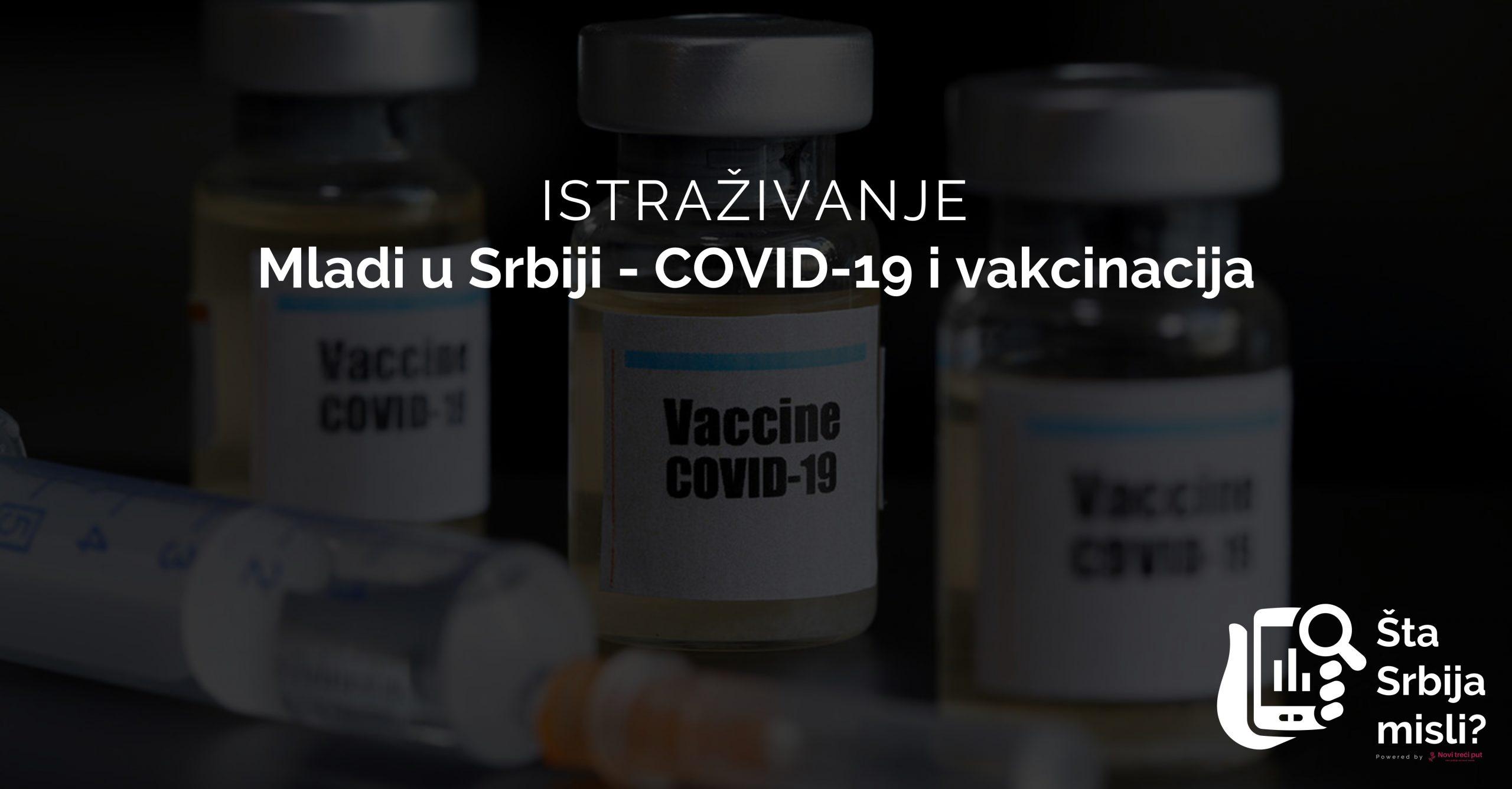 Mladi u Srbiji - COVID-19 i vakcinacija