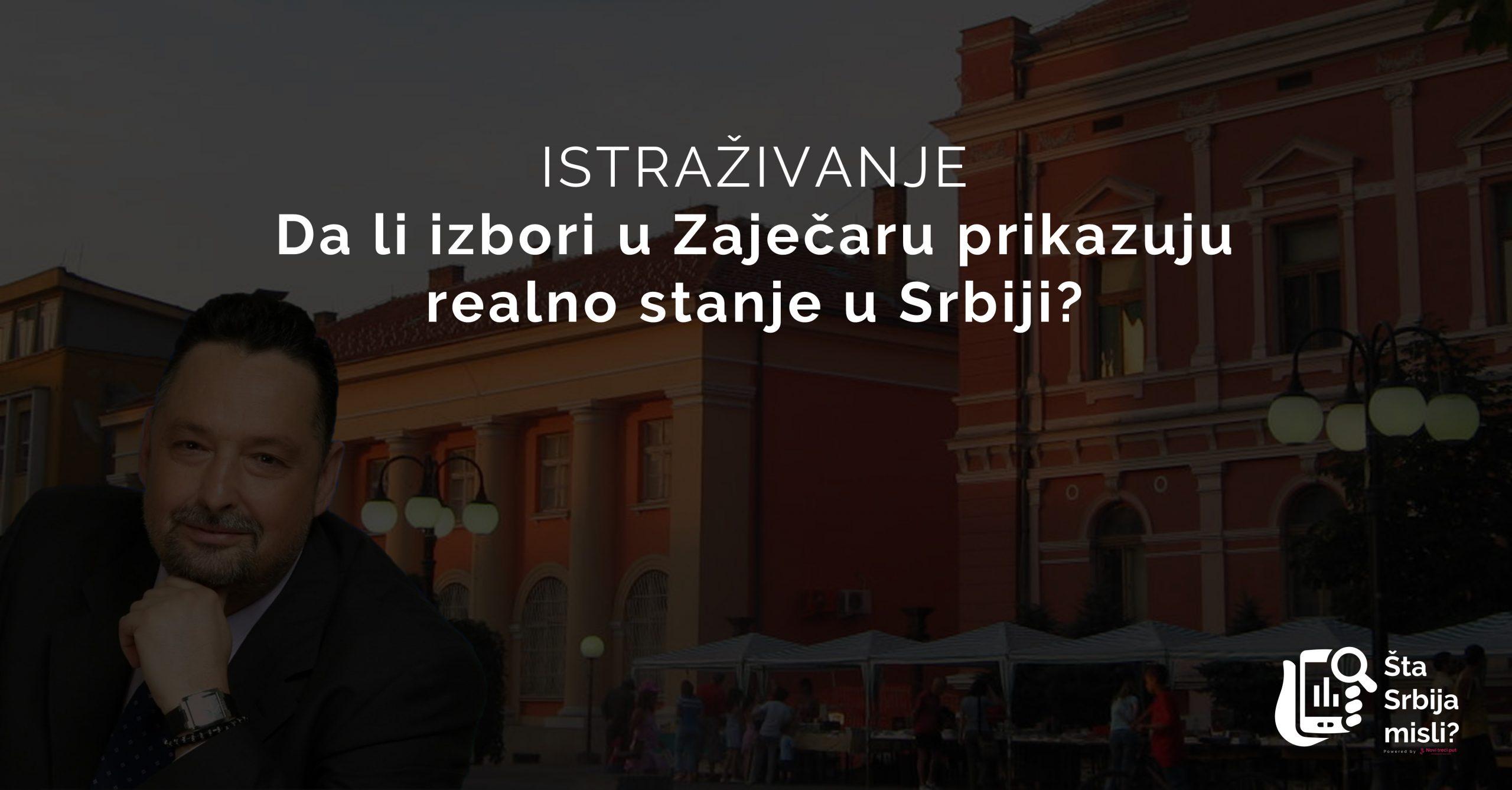 Da li izbori u Zaječaru prikazuju realno stanje u Srbiji?