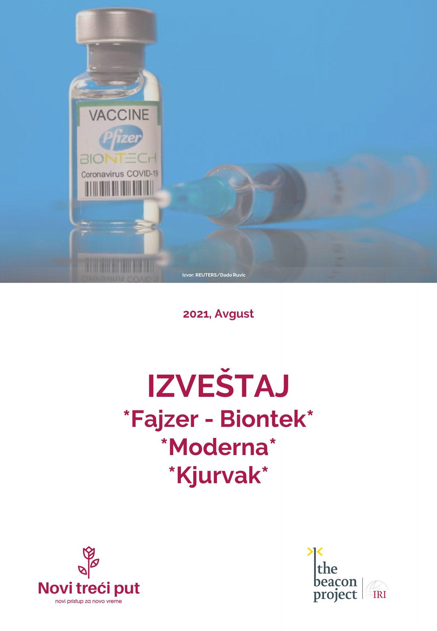 Fajzer-Biontek, Moderna i Kjurvak